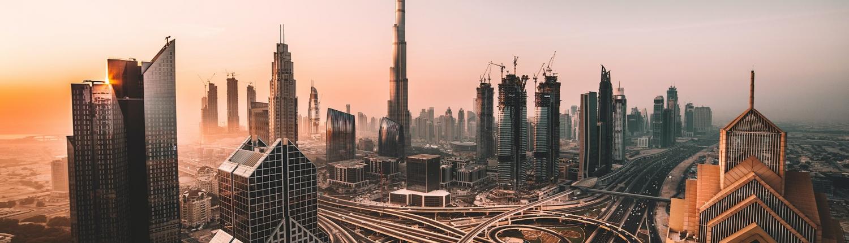 Eagle eye view of Dubai; Pronto offers premium translation services into 122+ languages