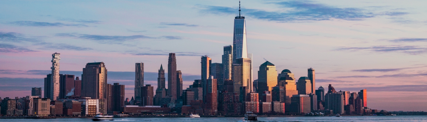 New York cityscape; Pronto translation services has offices all over the globe